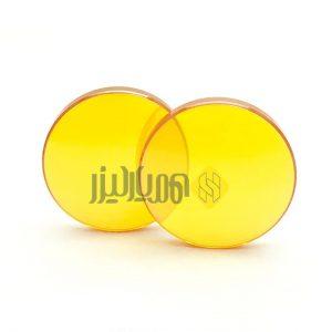 لنز لیزر طلایی 2.5 اینچ